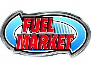 Fuel Market Metallic Oval logo