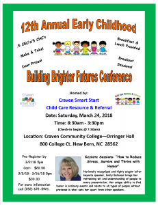Conference Flyer 2018